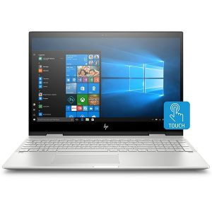 HP – ENVY x360 2-in-1 15.6″ Touch-Screen Laptop – Intel Core i7 – 12GB Memory – 256GB Solid State Drive – HP Finish In Natural Silver