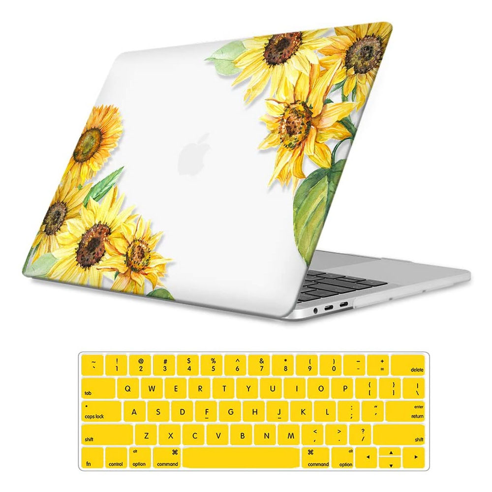 MacBook Pro 13 W/Without Touch Bar & Touch ID, Sunflowers