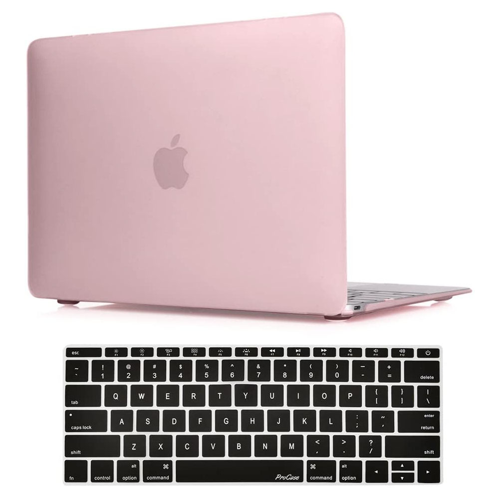 Apple MacBook 12″ with Retina Display A1534 -Clear Pink